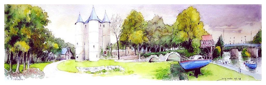 Guy-MOLL--Vernon---Normandie---France--chateau-des-Tourelles-et-Vieux-Moulin.jpg