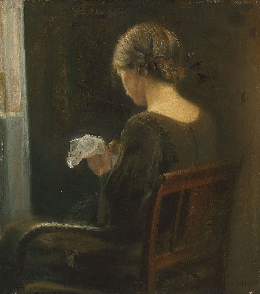 Carl Vilhelm Holsøe (Danish, 1863 1935).