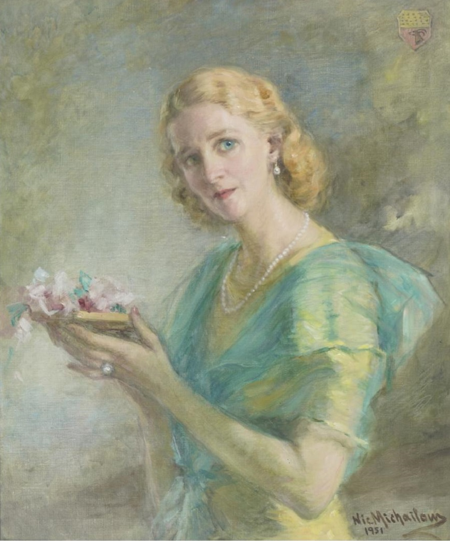 Nikola MICHAILOW (1876 1960), Portrait of Gertrud