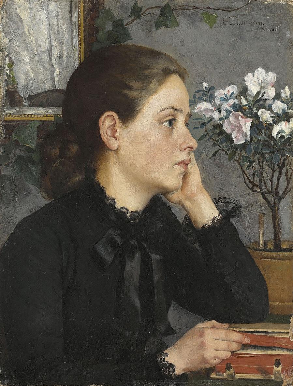 Sofie Thomesen Werenskiold (Norwegian,1849 1926)
