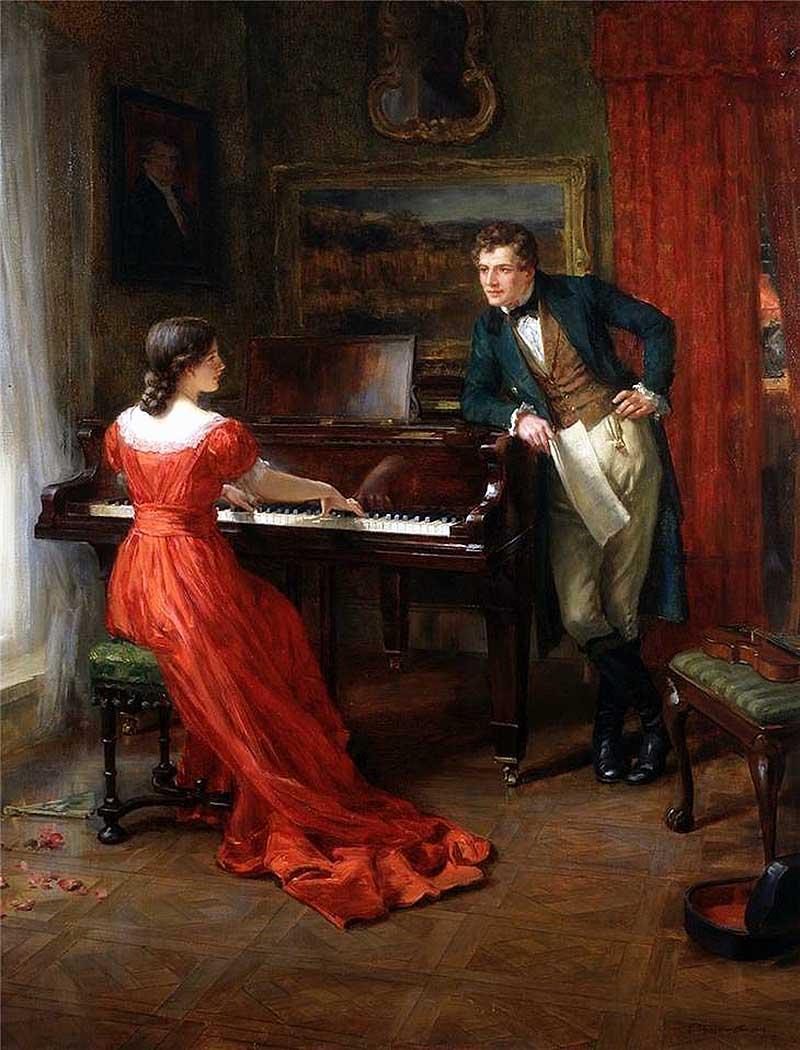 Британский художник George Sheridan Knowles (British, 1863 1921)