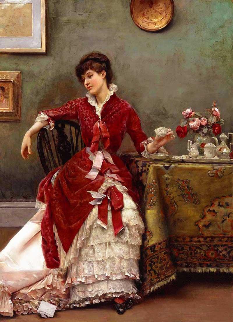 Julius LeBlanc Stewart; 1855 1919) американский художник, бо́льшую часть жизни проживший во Франции.