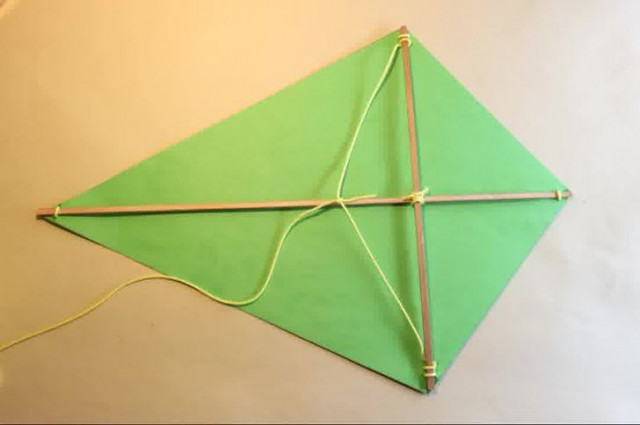 Воздушный змей, пожалуй, самый простой.