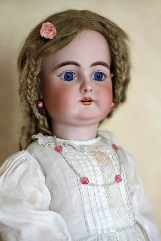 Антикварная немецкая кукла фабрики Handwerck