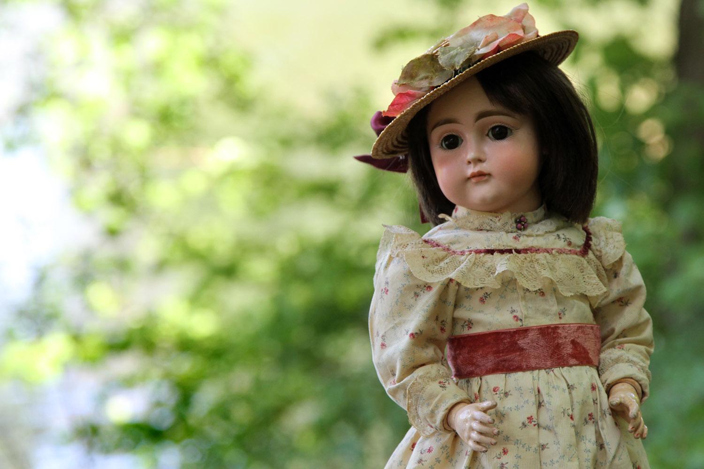 Ранняя антикварная кукла Kestner
