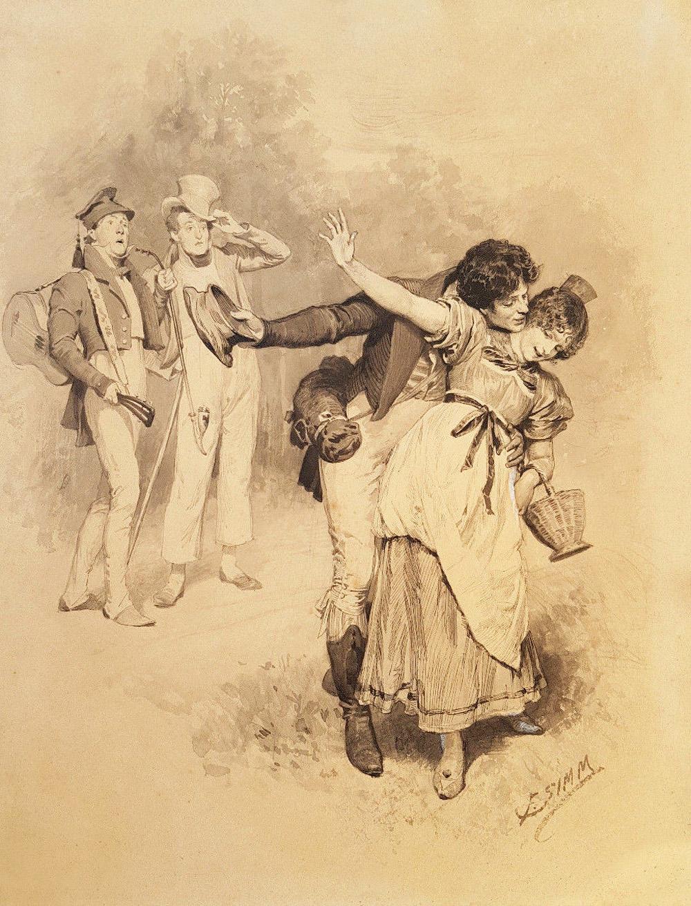 Franz-Xaver-Simm-1853-1918-Zeichnung-Schelmenstreich.jpg