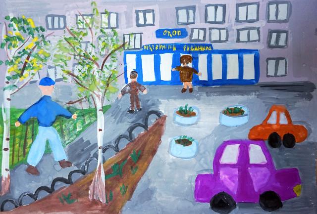 Рисунок Маши Захаровой