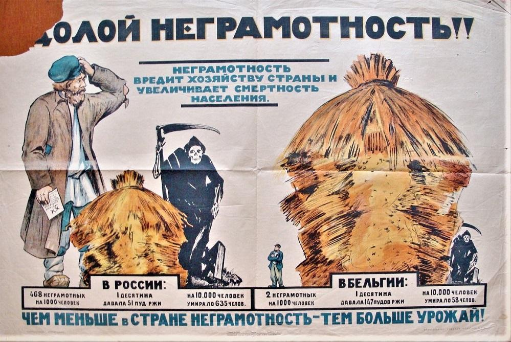 Старый советский плакат (из интернета)