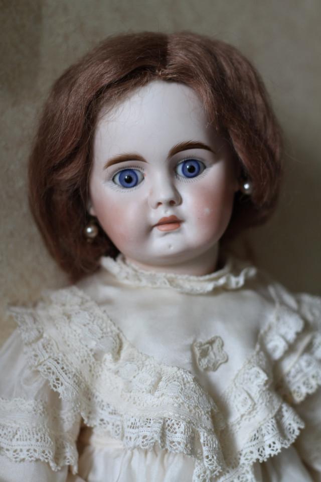 Редкая антикварная кукла Bahr Proschild белтон