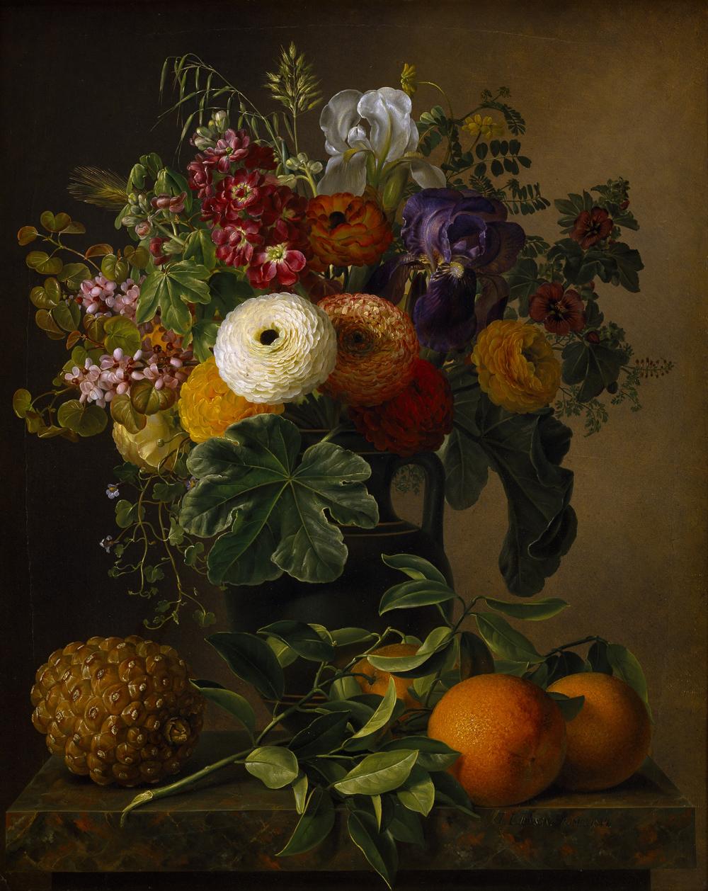 J.L._Jensen_Nature_morte_med_blomster_i_antik_vase_pa_en_marmorbordplade_1834_B232_Thorvaldsens_Museum.jpg