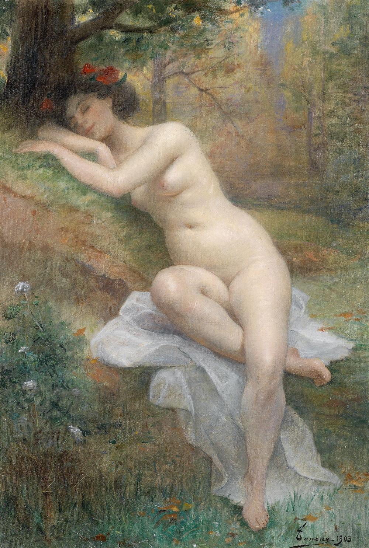 Adrien_Henri_Tanoux_Weiblicher_Akt_in_Waldlandschaft_1903.jpg