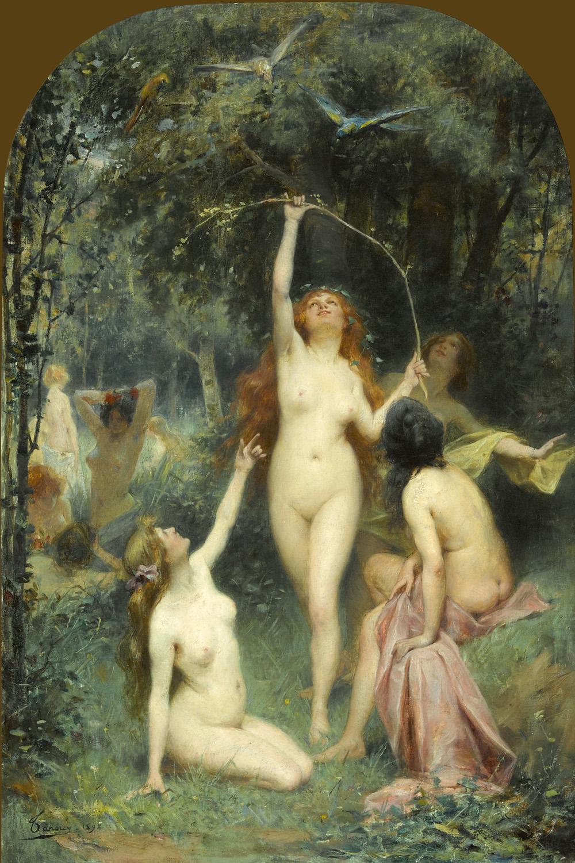 Henri_Adrien_Tanoux_-_Nymphs_In_A_Forest.jpg